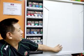 Retailers see dip in sales of cigarettes after display ban