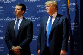 Trump 'dictated son's statement on meeting with Russian lawyer'