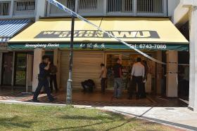 Man who robbed Western Union branch in Ubi still at large