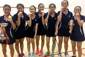 MGS win first girls' C Div squash title in seven years