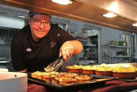 Cirque du Soleil Kooza chef gives performers a 'taste of home'