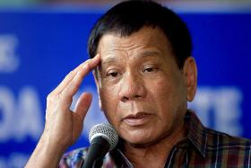 Duterte calls North Korea's Kim a 'fool' over nuclear ambitions