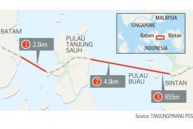 7km bridge to improve connectivity in Batam, Bintan