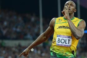 Bolt predicts a winning time of about 9.80sec