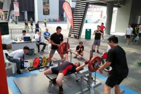 Matthew Yap competes in the Under-74kg National Bench Press Championships & Asian Qualifiers.
