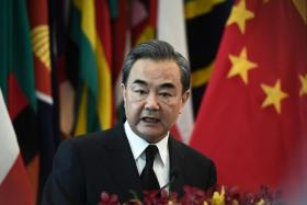 China's Foreign Minister Wang Yi.