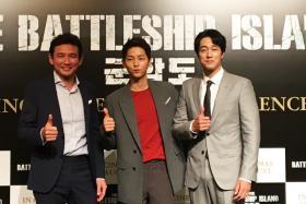 Hwang Jung-min, Song Joong-ki and So Ji-sub.