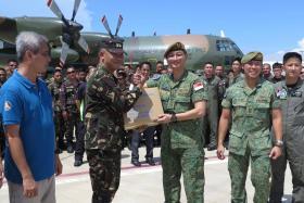 Singapore sends aid to Marawi