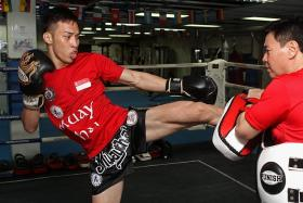 Muay Thai is his life