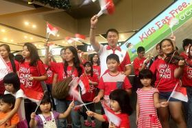 National Day sing-along in Sengkang