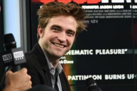 British actor Robert Pattinson.