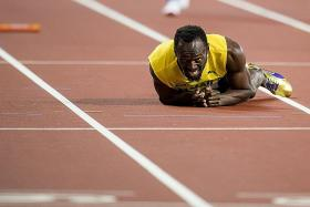 When Usain finally shot his bolt