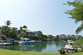 Sentosa Cove houses at same level as mass market condos