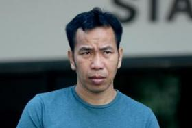 Muay thai trainer Chaisim Santi pleaded guilty to two counts of insulting a woman's modesty.