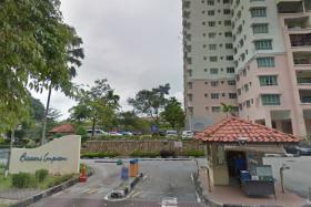 Bistari Impian Apartment in Larkin, Johor Baru.