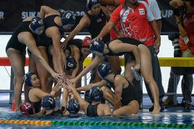 Water polo girls survive scare in SEA Games opener