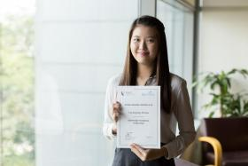 SMU student can now focus on  studies, thanks to funding scheme