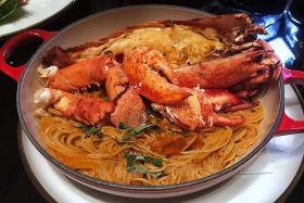 Delectable food at Marina Bay