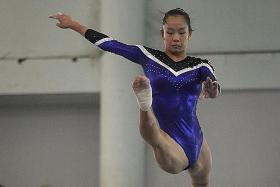 Artistic gymnast Sze En out with ankle fracture