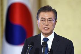 Nuclear-armed ICBM test would 'cross red line': Moon