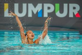 S'pore bags first gold at SEA Games