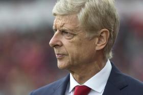 Arsene Wenger arriving for the match against Stoke City