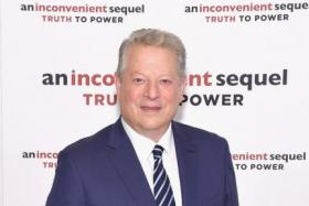 Al Gore at the screening of An Inconvenient Sequel: Truth To Power at the Whitby Hotel on July 17, 2017 in New York City.