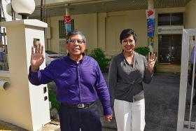 Salleh Marican submits papers to run for president