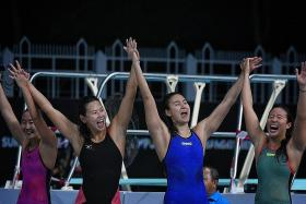 Three back-to-back races, three golds for Ting Wen
