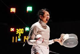 Ywen puts rivals to the sword