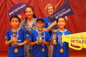 Tennis carnival attracts 100 competitors