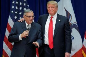 Republicans rebuke Trump for ex-sheriff pardon