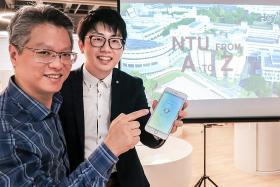 NTU start-up's app could shake up e-commerce