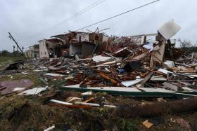 the coastal town of Rockport took a direct hit from hurricane harvey.