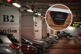 Changi Airport's new Video-based Parking Guidance System works via video cameras installed above all parking spaces.