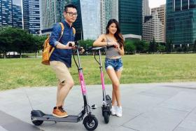 Singapore-based company PopScoot will bring its electric scooter sharing service to downtown commercial clusters and the heartlands in September.