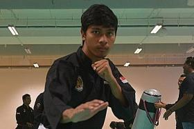 Alfian eyeing third consecutive gold to emulate silat great Sheik's feat