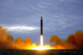 North Korean missile test rattles markets