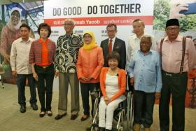 """Presidential hopeful and former Speaker of Parliament, Madam Halimah Yacob, has unveiled her campaign slogan """"Do Good, Do Together"""" - a call to all Singaporeans to join her in building a community of excellence that is inclusive and progressive."""