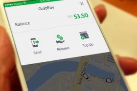 Grab Cashless E-Payment