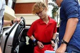 teen arson loan shark Redhill Singapore