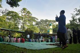 He relives 'good old days' during Hari Raya Haji at kampung mosque
