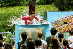 Dunk a DJ at Picnic in the Park