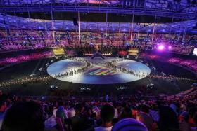 The closing ceremony of the SEA Games 2017 at the Bukit Jalil National Stadium