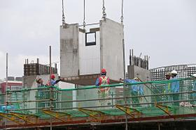 Shorter construction time, less noise and dust expected