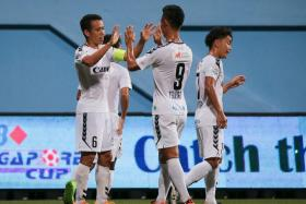 Young Lions no match for 10-man Albirex