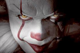 Bill Skarsgard as Pennywise the clown