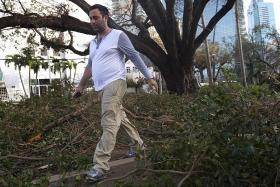 Irma weakens but still wreaks havoc in Florida