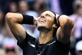 Nadal not obsessed with catching Federer