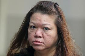 She pays off husband's debt with stolen money